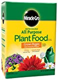 Miracle-Gro 1001193 3001192 Water Soluble All Purpose Plant Food-10 LB, 10 LB, Green