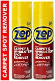 Zep Instant Carpet & Upholstery Spot and Stain Remover Aerosol (Pack of 2) (Formerly Instant Spot...