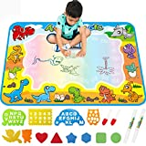 Large AquaDoodle Drawing Mat for Kids - Free to Fly Water Painting Writing Doodle Board Toy Color...