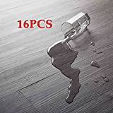16 PCS 24 Square Feet, CO-Z Odorless Vinyl Floor Planks Adhesive Floor Tiles 2.0mm Thick,...