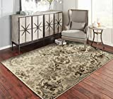 A.S Quality Rugs Large Distressed Living Room Rugs 8x10 Dining Room 8x11 Brown Carpet Clearance...