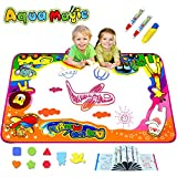 Kulariworld Aqua Magic Doodle Mats Kids Toddlers Paint Toys Water Drawing Mat Water Doodle Pad Large...