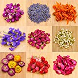 Oameusa Dried Flowers,Dried Flower Kit,Candle Making, Soap Making, AAA Food Grade-Pink Rose,...