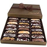 Barnetts Biscotti Cookies Gift Basket / Christmas Gourmet Holiday Chocolate Food / Unique Idea For...
