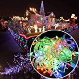 Autolizer 100 LED RGB Multi-Color Fairy String Lights Lamp for Xmas Tree Holiday Wedding Party...