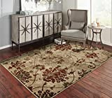 A.S Quality Rugs Modern Distressed Living Room Rugs 8x10 Dining Room 8x11 Burgundy Carpet Clearance...