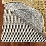 DoubleCheck Products Non Slip Area Rug Pad for Hardwood Floors Size 2 X 8 Extra Strong Grip and...