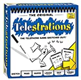 USAOPOLY Telestrations Original 8 Player Board Game | #1 LOL Party Game | Play with Your Friends and...