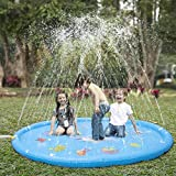 KKONES Sprinkler pad & Splash Play Mat 68' Toddler Water Toys Fun for 1 2 3 4 5 Year Old Boy Girl,...