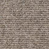 House, Home and More Indoor/Outdoor Carpet with Rubber Marine Backing - Brown 6' x 10' - Carpet...
