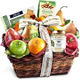 Sympathy Classic Gourmet Fruit Basket Gift