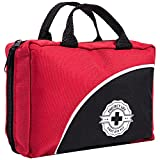 First Aid Kit - 150 Piece - for Car, Travel, Camping, Home, Office, Sports, Survival   Complete...