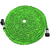 soled Expandable Garden Hose, 50ft Strongest Expanding Garden Hose on The Market with Triple Layer...