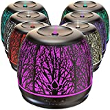 Best Rated Diffusers for Essential Oils, Premium Iron Aromatherapy Diffuser with Large 500mL Water...