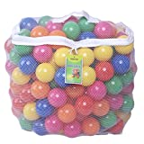 Click N' Play Pack of 200 Phthalate Free BPA Free Crush Proof Plastic Ball, Pit Balls - 6 Bright...