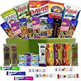 Healthy Snacks Care Package Gift Basket- 32 Health Food Snacking Choices - Quick Ready To Go - For...