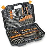VonHaus 246-Piece Drill and Drive Bit Set with Titanium Coated HSS Bits and Storage Case for...