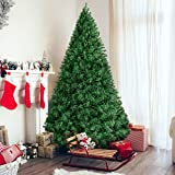 Best Choice Products 6ft Premium Hinged Artificial Christmas Pine Tree w/ Easy Assembly, Solid Metal...