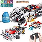 STEM Building Toys, Remote Control Racer Learning Kits 326 Pcs for 7, 8 and 9 Year Old Boys and...