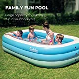 Sable Inflatable Pool, Family Swim Center Pool for Kids, Adults, Backyard, Outdoor, 92' X 56' X 20',...