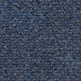House, Home and More Indoor/Outdoor Carpet with Rubber Marine Backing - Blue 6' x 10' - Carpet...