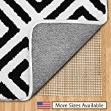 Gorilla Grip Original Area Rug Gripper Pad (4x6), Made in USA, for Hard Floors, Pads Available in...