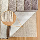 Aurrako Original Rug Grippers for Hardwood Floors, 2'x10' Non-Slip Rug Pads Available in Many...