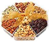 Holiday Nuts Gift Basket - Gourmet Food Gifts Prime Delivery - Christmas, Mothers & Father's Day...