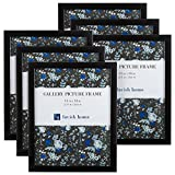 Picture Frame Set, 11x14 Frames Pack For Picture Gallery Wall With Stand and Hanging Hooks, Set of 6...