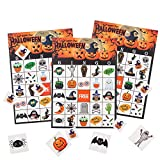 MISS FANTASY Halloween Bingo Game for Kids Halloween Party Games Classroom Activities for 24 Players...