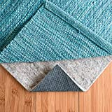 RUGPADUSA, 8' x 10', 1/4'' Thick, Basics Felt + Rubber Non Slip Rug Pad, Softens Rugs and Prevents...