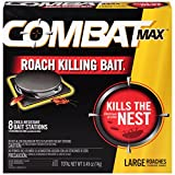 Combat Source Kill Max R2 Large Roach Bait - 1 Box (8 Bait Stations Total)