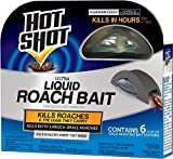 Hot Shot Ultra Liquid Roach Bait, 6-Count