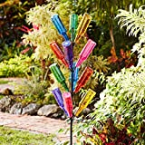 BrylaneHome Glass Bottle Tree - Multi