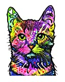 Enjoy It Dean Russo Cat Car Sticker, Outdoor Rated Vinyl Sticker Decal for Windows, Bumpers, Laptops...