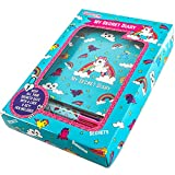 Unicorn Secret Lockable Journal Diary & Pen Gift Set - Great Birthday Present Gifts for Girls of All...