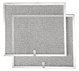Broan BPS1FA30 Replacement Filters for QS1 and WS1 30' Range Hoods, Aluminum, 2-Pack
