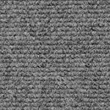 House, Home and More Indoor/Outdoor Carpet with Rubber Marine Backing - Gray 6' x 10' - Carpet...