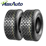 Set of 2 16x6.50-8 16/6.50-8 6-6.50-8 16x650x8 Turf Tires 4Ply Tubeless Replacement for John Deere...