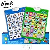 MEckily Learning Toys Toddler Preschool Kids Electronic Touch Educational Toys Talking ABC Fruit...