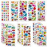 SAVITA 3D Stickers for Kids & Toddlers 500+ Puffy Stickers Variety Pack for Scrapbooking Bullet...