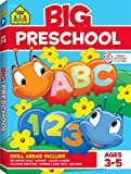 School Zone - Big Preschool Workbook - Ages 3 to 5, Colors, Preschool to Kindergarten, Shapes,...