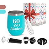 Giftz360 Funny 60th Birthday Gifts for Women – 60 and...