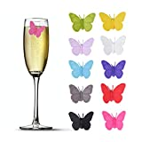 Accering 3D Drink Labels Glass Makers, Silicone Party Wine...