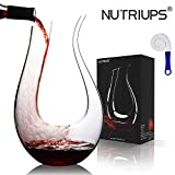 Wine Decanters, NUTRIUPS Red Wine Decanters, Lead-free Red...