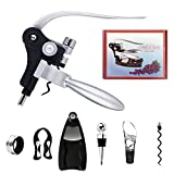 InDaily 7 Pieces Wine Opener Corkscrew Kit, Screwpull Levels...