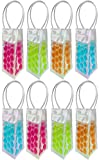 Set of 8 Wine Chiller Bags - Perfect for Road Trips, Parties...