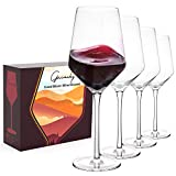 Gnimihz Hand Blown Wine Glasses - Standard Red/White Wine...