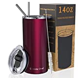 Umite Chef Tumbler with Lid, Stainless Steel Insulated...