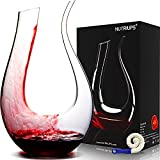 Decanters for Wine, NUTRIUPS Red Wine Decanter, Lead-free...